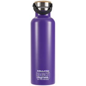 360° degrees Vacuum Insulated Drinkfles 750ml violet